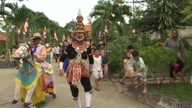 Đồng bào Khmer Trà Vinh vui mùa mừng Chôl Chnam Thmây 2017