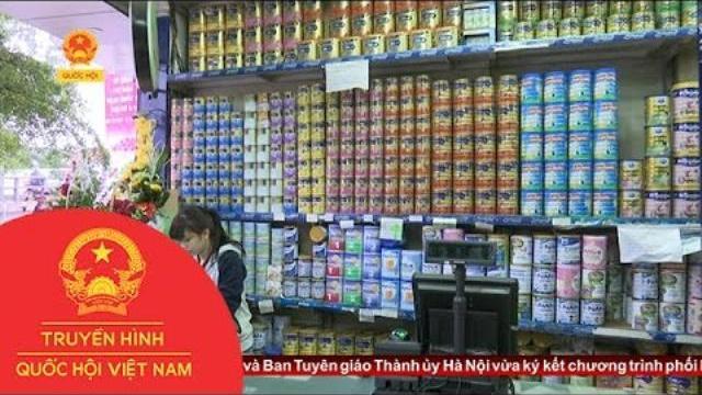 Thời sự - Bỏ áp trần giá sữa - người tiêu dùng e ngại giá sữa tăng cao