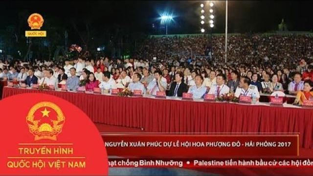 Thủ tướng Nguyễn Xuân Phúc dự Lễ hội Hoa phượng đỏ - Hải Phòng 2017
