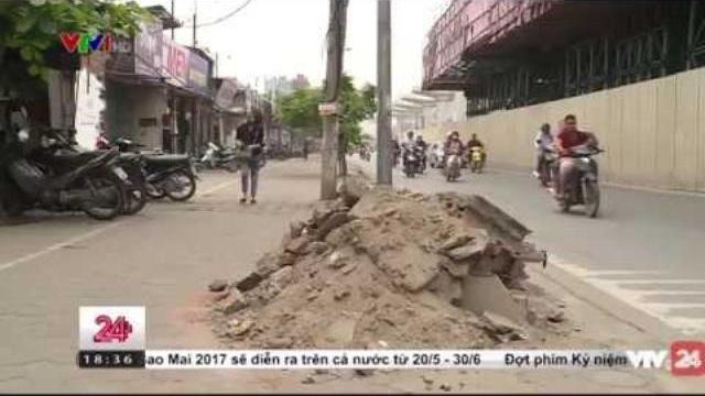 Vấn đề tồn đọng sau dọn dẹp vỉa hè | VTV24