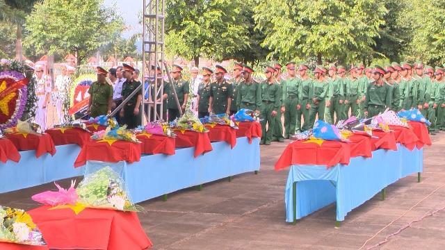 Gia Lai truy điệu và an táng 29 liệt sĩ hy sinh tại Campuchia