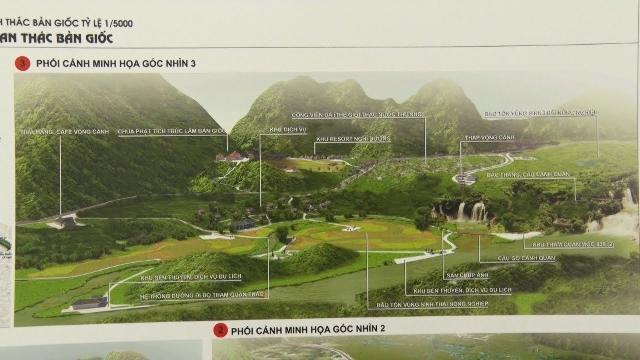 Cao Bằng công bố quy hoạch khu du lịch thác Bản Giốc