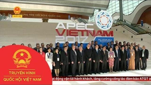 APEC Việt Nam 2017 - Động lực tăng cường phát triển   Thời Sự   THQHVN