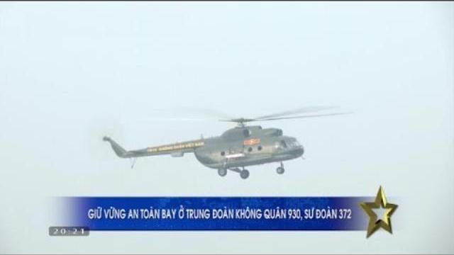 Truyền hình Quân đội ngày 16/4/2017: Sư đoàn Không quân 372 đảm bảo an toàn bay