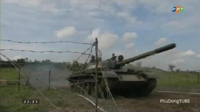 Truyền hình Quân đội ngày 9/4/2017: Tăng thiết giáp Quân đoàn 3 huấn luyện chiến đấu