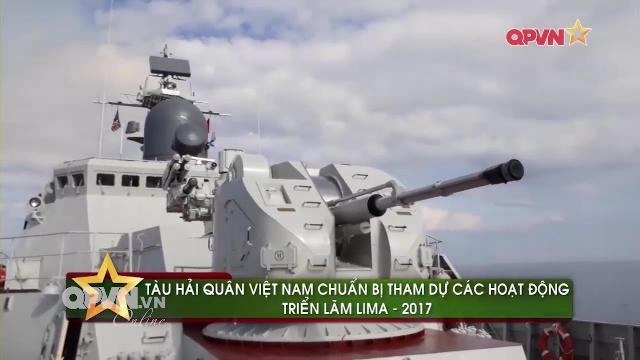 Tàu chiến Hải quân Việt Nam lần đầu diễn tập quốc tế LIMA