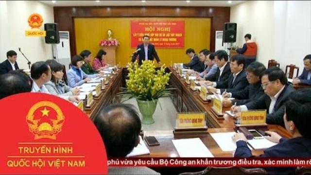 Thời sự - Đoàn ĐBQH tỉnh Bắc Ninh cho ý kiến vào dự thảo luật
