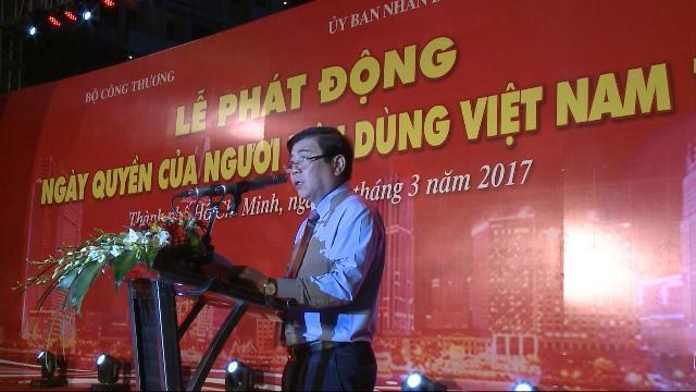 Lễ phát động Ngày Quyền của người tiêu dùng Việt Nam năm 2017