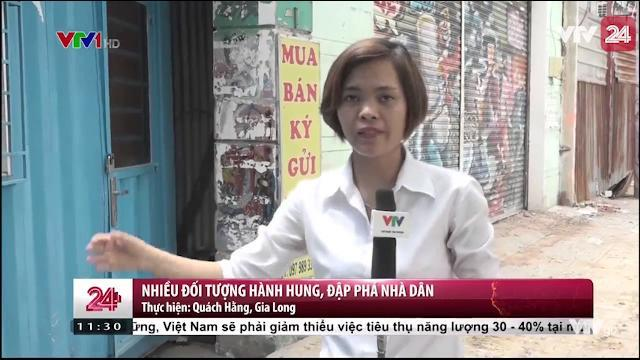 Tp.HCM: Nhiều đối tượng hành hung, đập phá nhà dân| VTV24