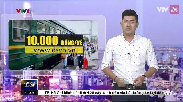 Đi tàu nhanh với giá chỉ 10.000 đồng vé | VTV24