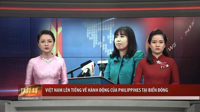 Việt Nam lên tiếng về hành động của Philippines tại Biển Đông