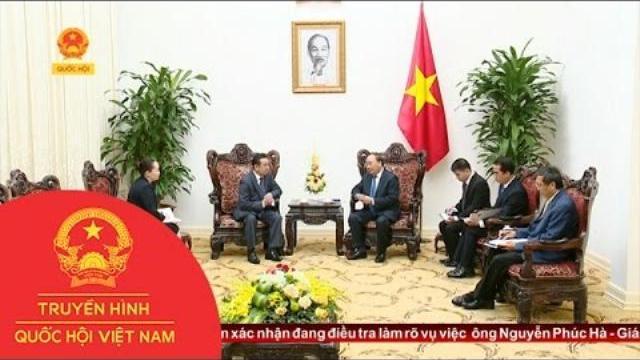 Thời sự - Thủ Tướng Nguyễn Xuân Phúc Tiếp Đại Sứ Mông Cổ