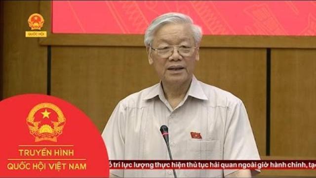 Thời sự - Tổng Bí thư tiếp xúc cử tri trước kỳ họp Quốc hội