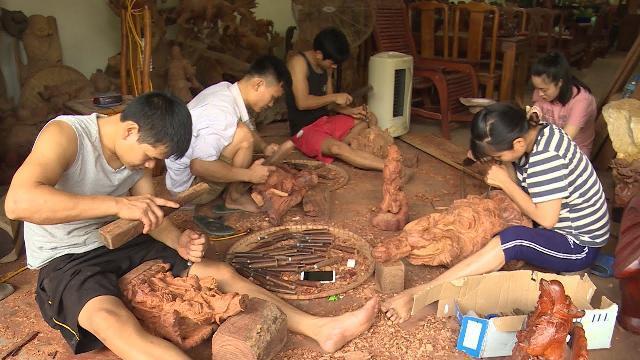 Bảo tồn và phát triển Làng nghề mộc thủ công mỹ nghệ Vân Hà, Đông Anh