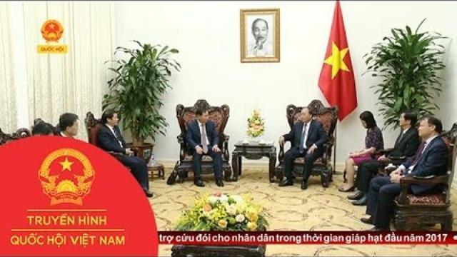 Thời sự - Thủ tướng tiếp Tổng Giám đốc Công ty Huyndai motor (Hàn Quốc)