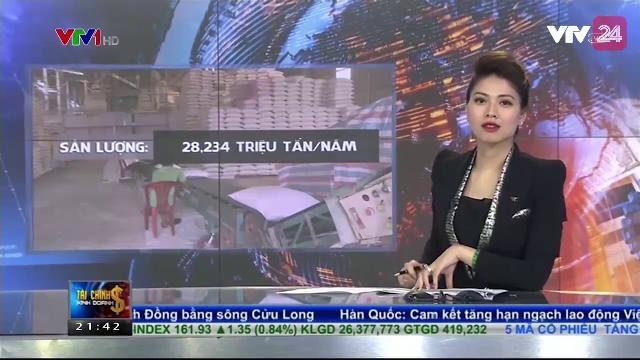 Việt Nam Đứng Thứ 5 Thế Giới Về Sản Lượng Lúa Gạo Trong Năm 2016 - Tin Tức VTV24