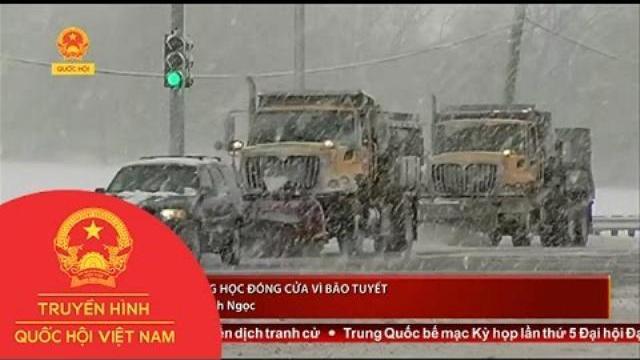 Thời sự - Mỹ: Trường học đóng cửa vì bão tuyết