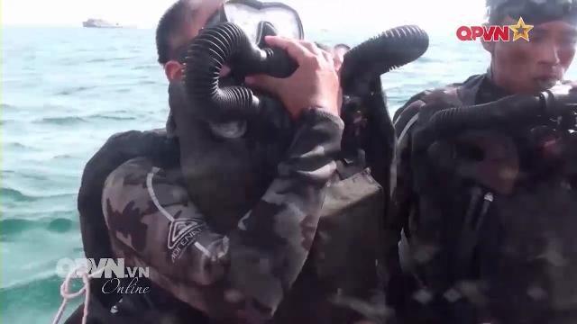 Tiết lộ quá trình huấn luyện khắc nghiệt của Đặc công người nhái Việt Nam