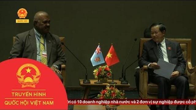 Thời sự - PCT Quốc hội Đỗ Bá Tỵ tiếp Phó Chủ tịch Quốc hội Cộng hòa Fiji