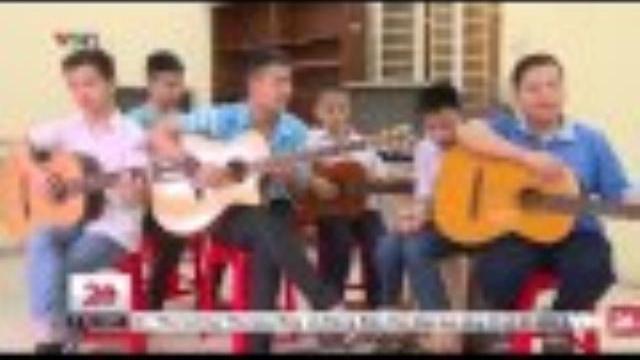 Ban nhạc khiếm thị của trường Nguyễn Đình Chiểu | VTV24