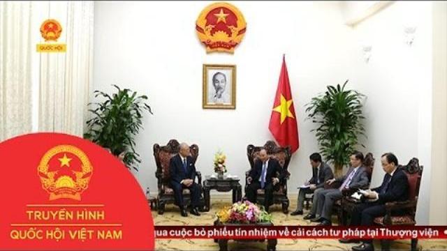 Thời sự - Thủ tướng tiếp Cố vấn đặc biệt Liên minh Nghị sĩ hữu nghị Nhật - Việt