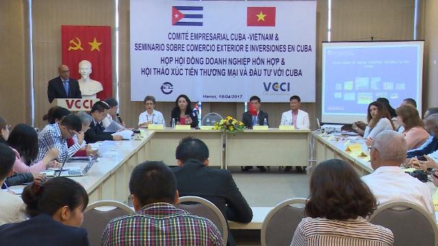 Tin Tức 24h: Họp Hội đồng doanh nghiệp hỗn hợp Việt Nam - Cuba