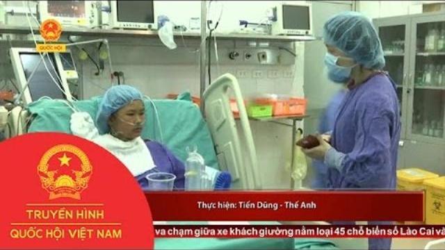 Thời sự - BV Việt Đức thực hiện thành công ca ghép gan từ người bố cho con