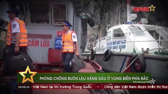 Cảnh sát biển Vùng 1 truy quét tội phạm trên biển Vịnh Bắc Bộ