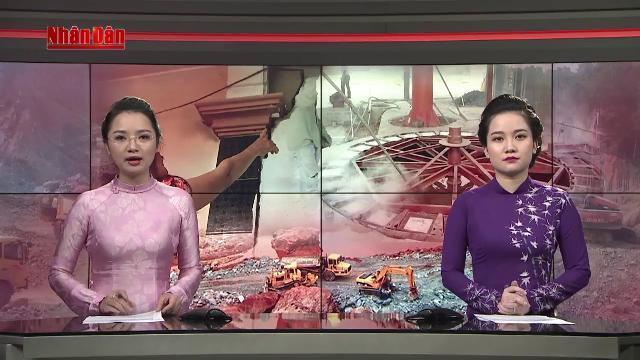 Tin Thời Sự Hôm Nay (18h30 - 14/4/2017): Khắc Phục Ảnh Hưởng Của Khai Thác Khoáng Sản Tới Người Dân