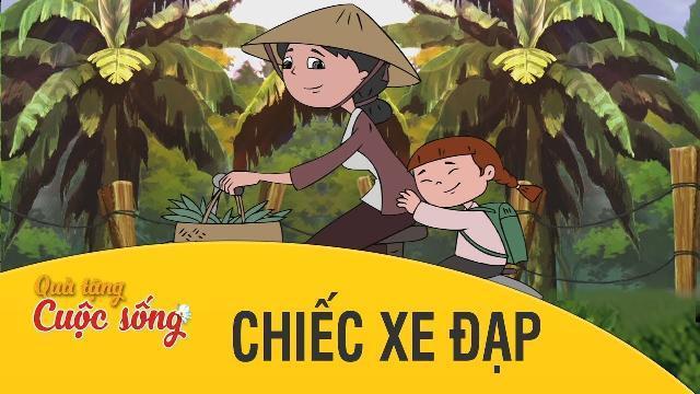 Quà tặng cuộc sống - CHIẾC XE ĐẠP - Phim hoạt hình hay nhất 2017 - Phim hoạt hình Việt Nam 2017