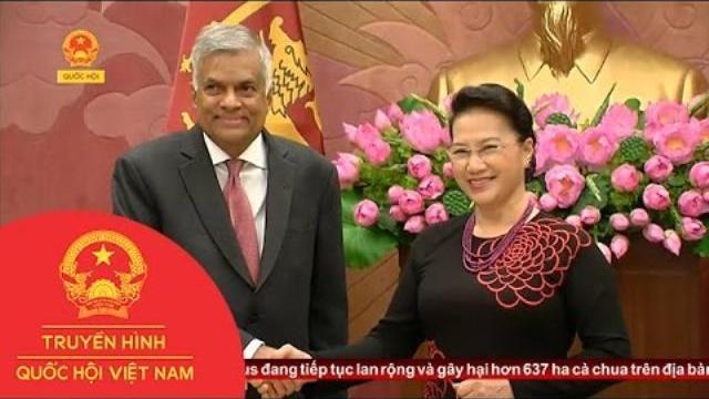 Thời sự - Chủ Tịch Quốc Hội Hội Kiến Thủ Tướng Sri Lanka