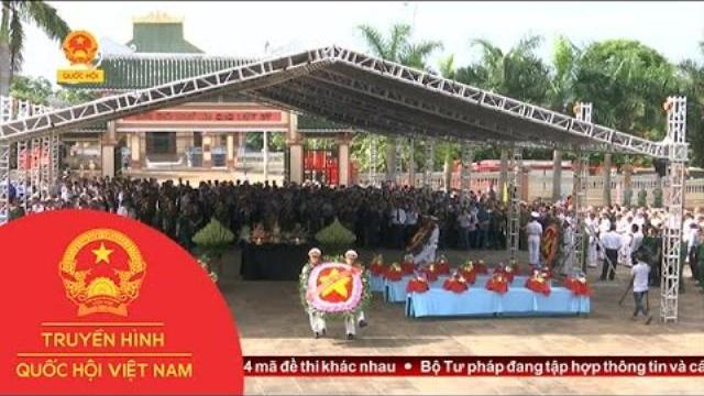 Truy điệu và an táng 29 liệt sỹ hy sinh tại Campuchia | Thời Sự | THQHVN