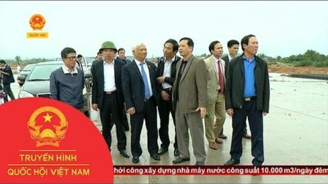 Thời sự - Phó Chủ tịch Quốc hội Uông Chu Lưu làm việc tại huyện Vân Đồn