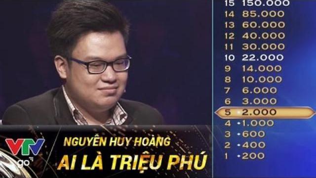 NGUYỄN HUY HOÀNG | AI LÀ TRIỆU PHÚ | 02/05/2017 | VTV GO