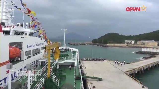 Cảnh sát biển Việt Nam đảm bảo hậu cần cho nhiệm vụ trên biển