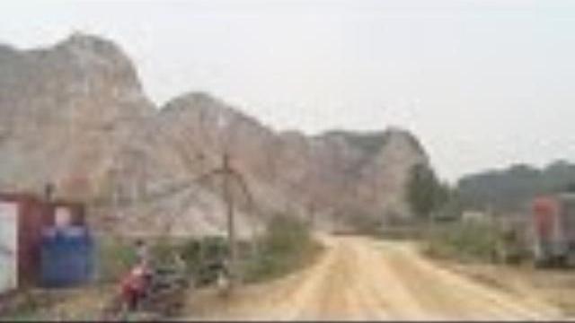 Quảng Ninh: Khai thác đá làm ảnh hưởng đến cuộc sống của người dân tại TP Uông Bí