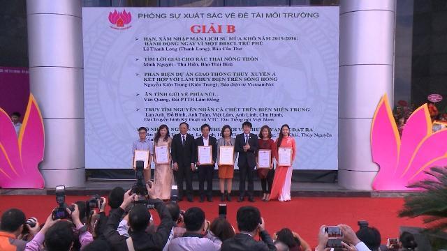 Tin Tức 24h Mới Nhât: Lễ trao giải và bế mạc Hội Báo toàn quốc 2017
