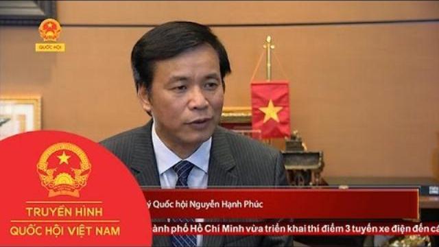 Tổng Thư ký Quốc hội Nguyễn Hạnh Phúc trả lời phỏng vấn THQHVN | Thời Sự | THQHVN