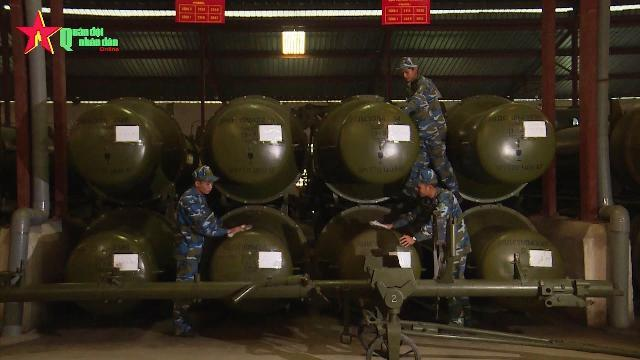 Hé lộ kho Tên lửa SAM-2 niêm cất ở Trung đoàn 236, Sư đoàn 361