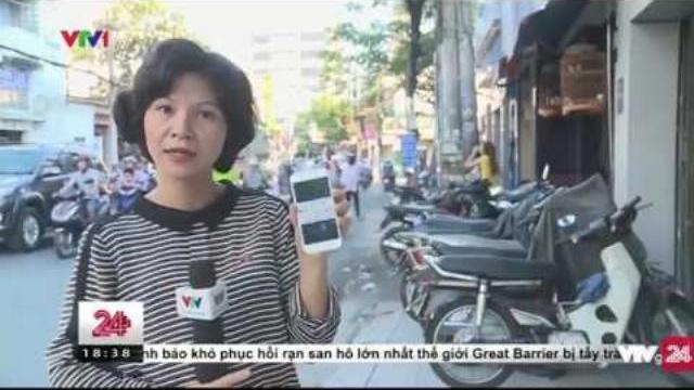 Phần Mềm Giúp Báo Cáo Tình Trạng Lấn Chiếm Vỉa Hè - Tin Tức VTV24