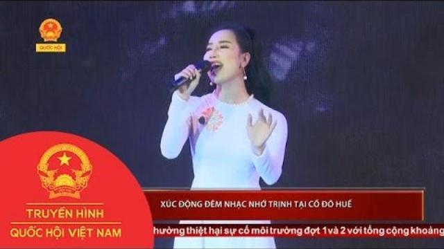 Xúc động đêm nhạc nhớ Trịnh tại cố đô Huế