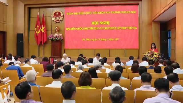 Tin Thời Sự Hôm Nay (11h30-13/5): Tổng Bí Thư Nguyễn Phú Trọng Tiếp Xúc Cử Tri Quận Ba Đình & Tây Hồ
