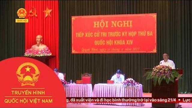 Thời sự - Đoàn ĐBQH tỉnh Sơn La tiếp xúc cử tri huyện Quỳnh Nhai