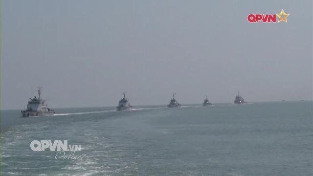 Thời sự Quốc phòng Việt Nam ngày 13/3/2017: Cảnh sát biển Việt Nam bảo vệ chủ quyền biển đảo
