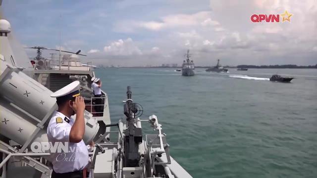 Thời sự Quốc phòng Việt Nam ngày 21/5/2017: Tàu chiến Việt Nam kết thúc diễn tập tại Singapore