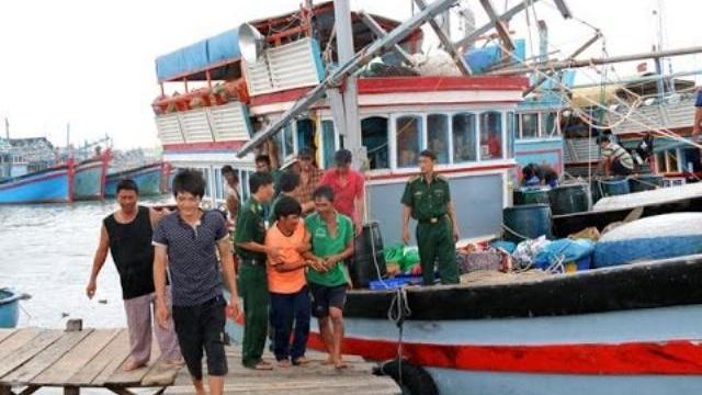 28 ngư dân may mắn thoát cảnh... chui vào bụng cá
