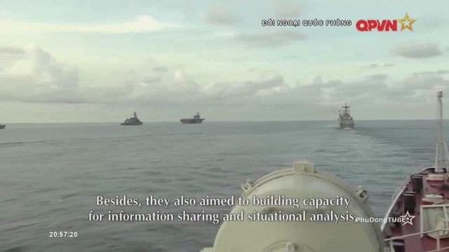 Vietnam navy participates in multilateral maritime exercise