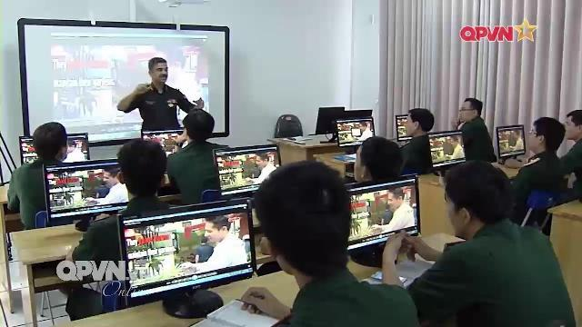 Dạy ngoại ngữ ở các Học viện nhà trường Quân đội