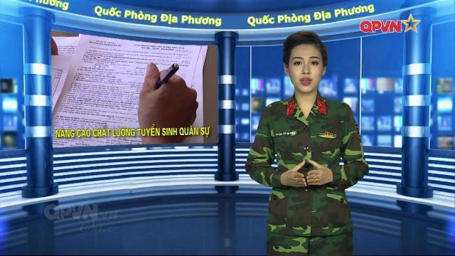 Hướng nghiệp cho học sinh có thành tích tốt thi vào các Học viện, nhà trường Quân đội