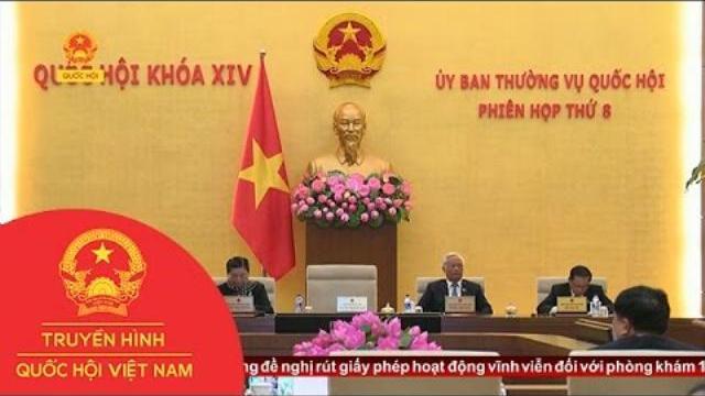 Thời sự - Ủy ban thường vụ Quốc hội cho ý kiến về dự án Luật quy hoạch